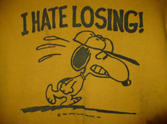 Snoopy - I Hate Losing