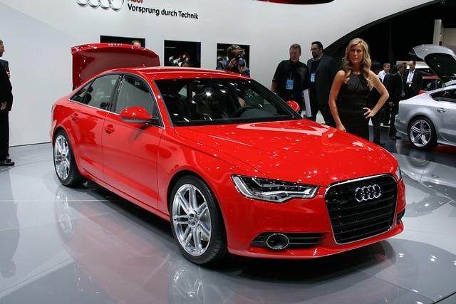2011 Detroit: 2012 Audi A6