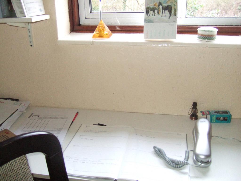 Yvonne's desk