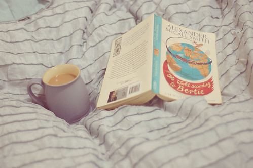 {13/365} Tea, book & bed