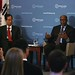 Ambassadors Han Duk-Soo and Ron Kirk at Third Way's HEARTLAND TO SEOUL event on US-Korea free trade