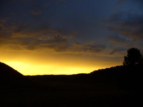 sunset colorado september western 2010 littlehills 92010