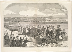 The Grand Review at Camp Massachusetts, near Concord, September 9, 1859