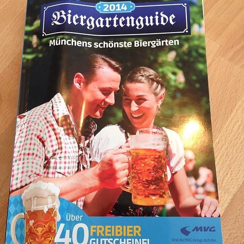 Biergartenguide 2014 - #München und seine schönsten Biergärten. Mit über 40 Freibier-Gutscheinen und div. Wissenswertem über die Biergartenkultur der Stadt.