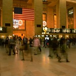 Manhattan Kansas Watching the world walk by.  #nyc #grandcentralterminal #manhattan #newyorkcity