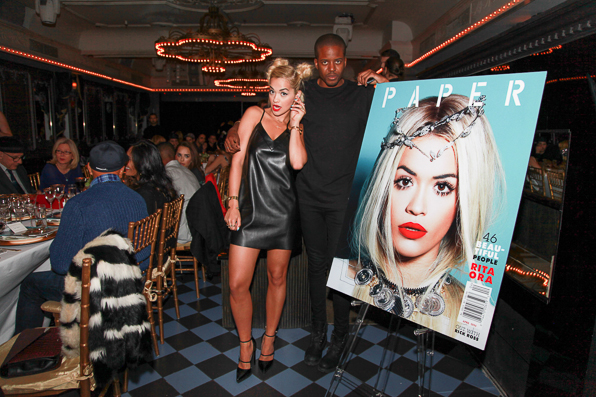 Rita Ora on the cover of Paper Magazine's Beautiful People issue