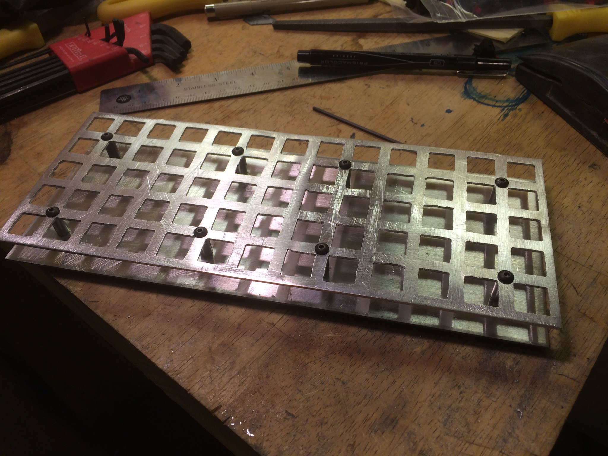 Keyboard case assembly