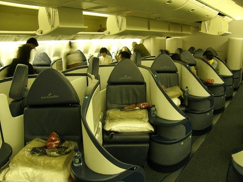 #5115 Business Class seat