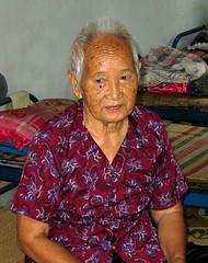 Nha Trang, Vietnam - Visit in a nursing home