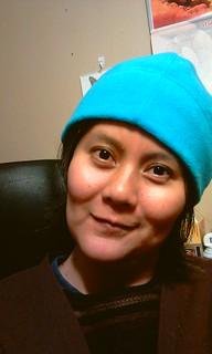 blue beanie day 2010