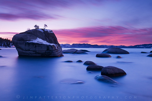 Pretty in Pink - Bonsai Rock, Carson City County, Nevada