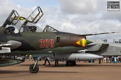 308 - 17532366308 - Polish Air Force - Sukhoi SU-22UM-3K - 100717 - Fairford - Steven Gray - IMG_3693