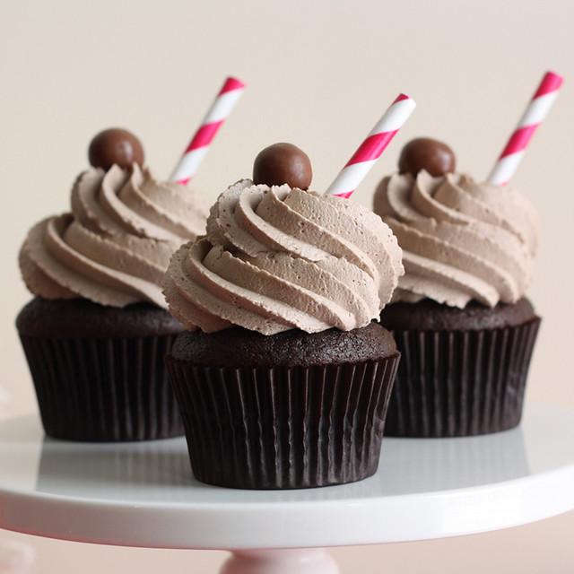 Chocolate Malt Cupcakes | Flickr - Photo Sharing!