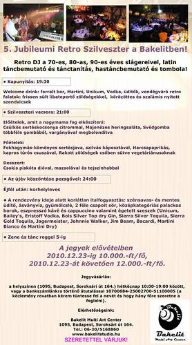 5. Jubileumi Retro Szilveszter a Bakelitben