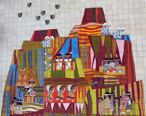 My owl barn mural at disney 39 s contemporary resort for Contemporary resort mural
