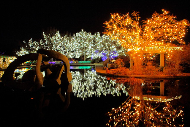 Denver Botanical Garden Christmas Lights Flickr Photo Sharing