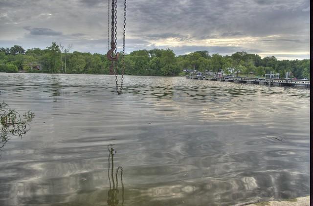 Boat Launch @ Griggs Reservoir, Hilliard, Ohio