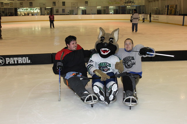 amputee sled hockey support group amputee and prosthetic center