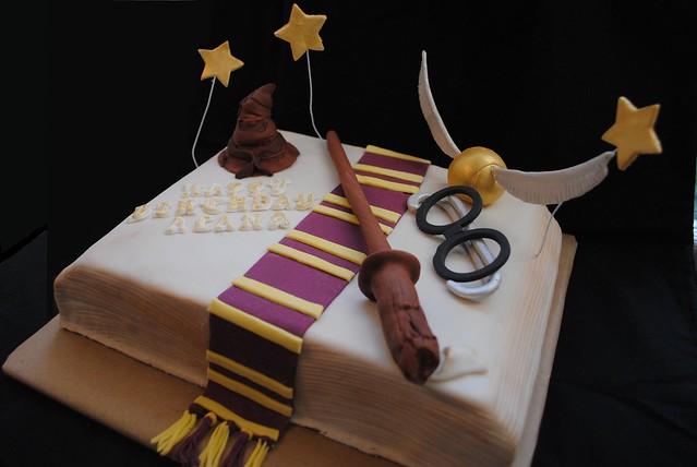 Harry Potter Cake Flickr - Photo Sharing!