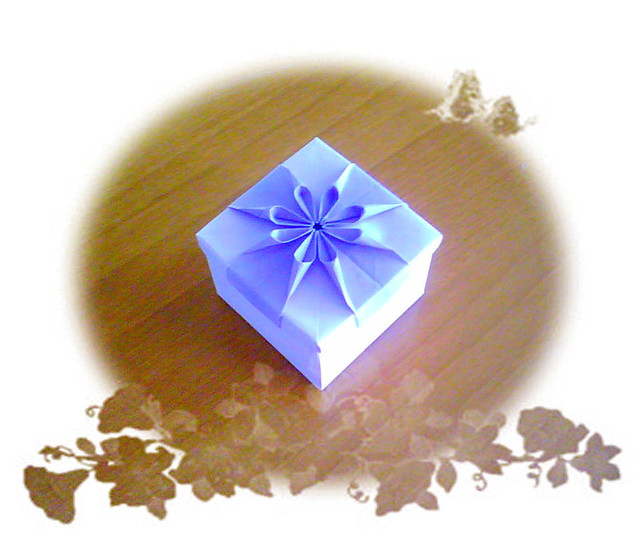 origami flower box flickr photo sharing