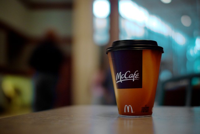 McDonalds FREE Coffee February 24 - March 2