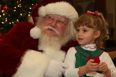 Santa Claus at VOA Learning Center
