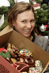 a dozen voodoo doughnuts for xmas