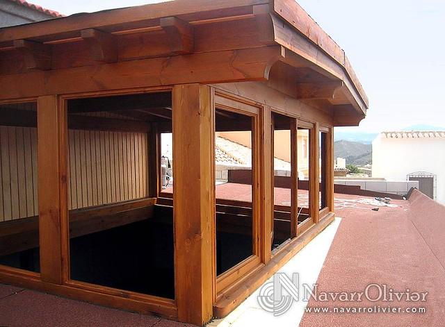 Cerramiento de madera con ventana flickr photo sharing - Cerramiento de madera ...