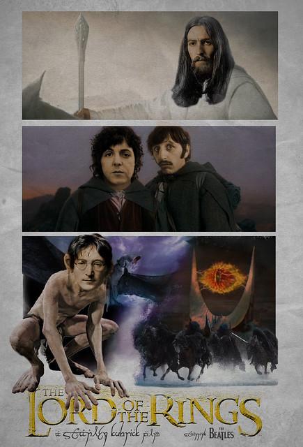 Beatles Kubrick Lord Of The Rings