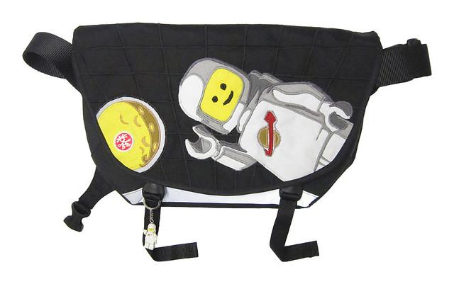 Custom Crumpler Bag - Lego Classic Spaceman