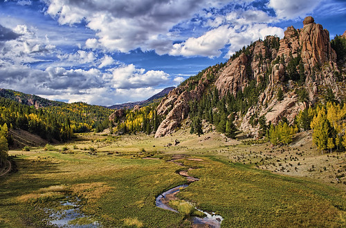 park autumn mountain mountains fall nature rock forest landscape rockies gold nikon colorado rocks spires rocky formation co sns aspen hdr teller cathedralpark clff nikon1735 d700