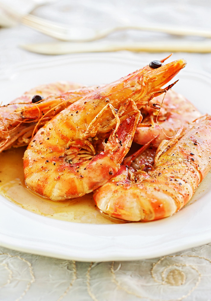 Langostinos al horno lovefood for Langostinos al horno