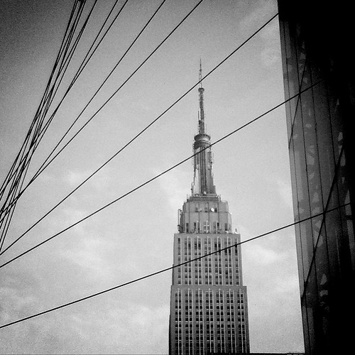An iPhone 4 photo: The Empire State Building ... by Dominique James. Visit http://bit.ly/5HY4wN for more.