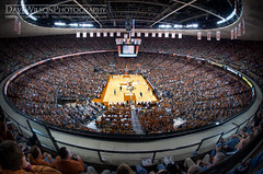 Longhorn Basketball at the Erwin Center
