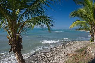 Image of  Ti Mouillage resto beach  near  Cayes Jacmel.