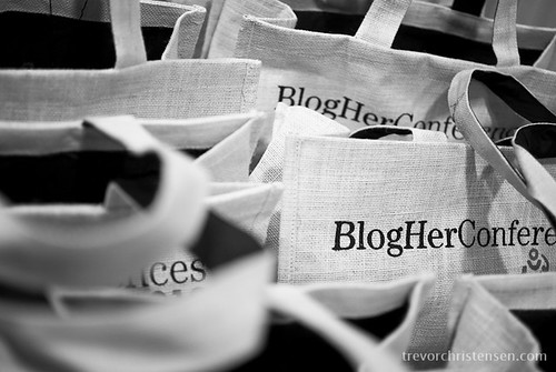 BlogHer Conference Tote Bags