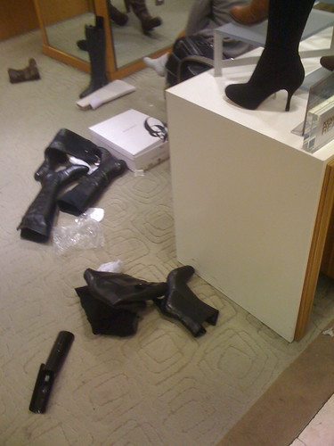 Macy's aftermath (boots)