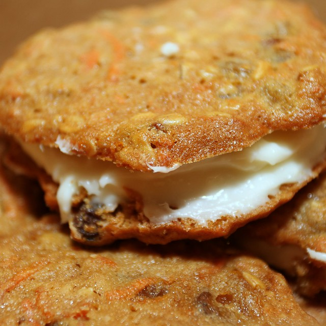 Inside Out Carrot Cake Cookies @ Magpie Caterers | One of ...