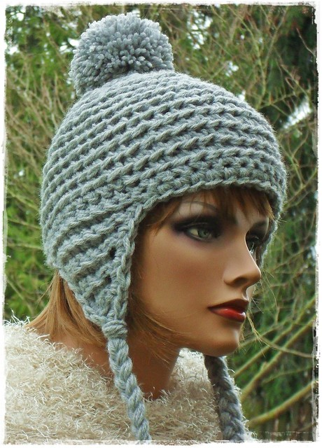 Crochet Earflap Hat : Crochet Earflap Hat Flickr - Photo Sharing!