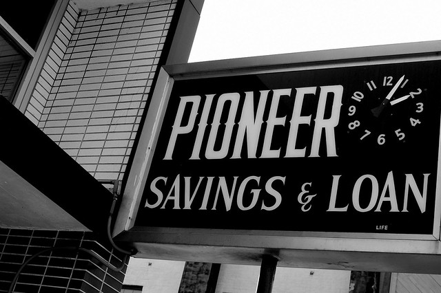 pioneer savings and loan Early pioneers in the upper huon, dean family members from 'belmont',   about saving these important records nick vine hall  library, they are not  available for loan (although copies of some of them may be available at city and  branch.