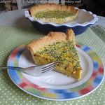 Gelbe Zucchini-Quiche