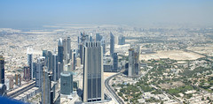 Looking out over Dubai looking NE