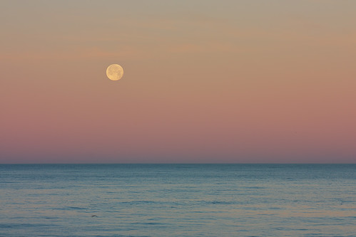 Pacific Moonset