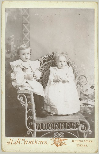 Two children