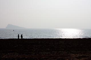 Image of Playa de Levante Levante Beach. spain alicante es benidorm