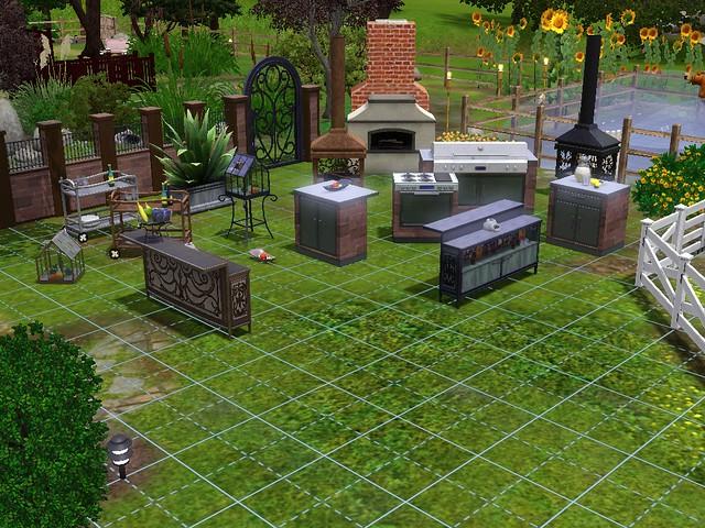 nuevas imagenes de los sims 3 patios y jardines taringa On fotos de patios y jardines
