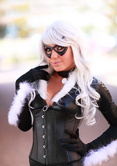 Jessica Nigri as Black Cat 2011 AZ ComicCon