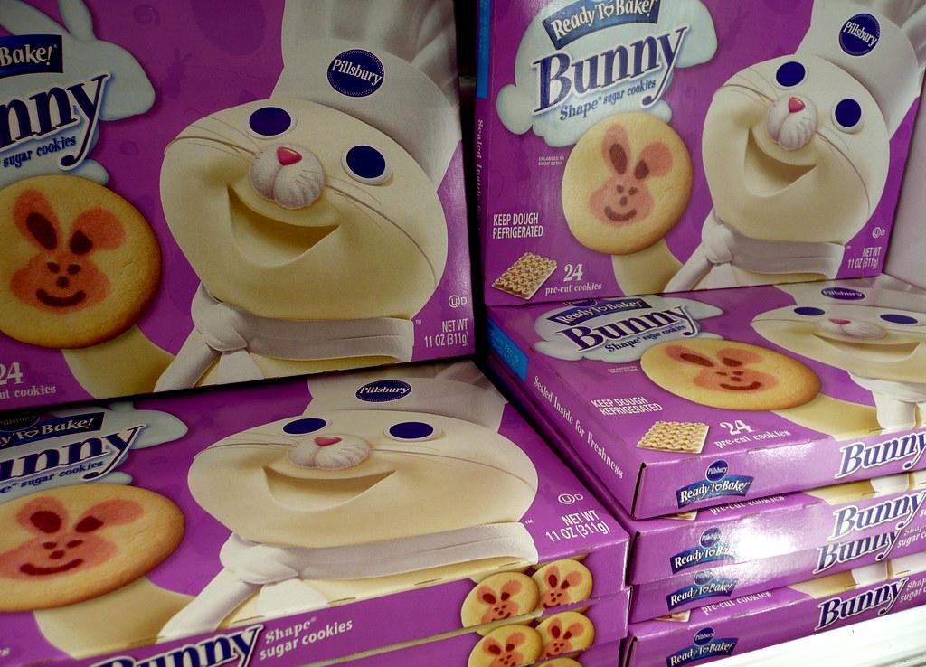 pillsbury easter cookies - Pillsbury Dough Boy Halloween Cookies