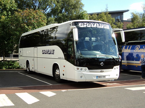 Grayline Coaches of Bicester YN55KWU