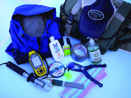 Monday tip fourteen essential items for a saltwater fly for Essential fishing gear